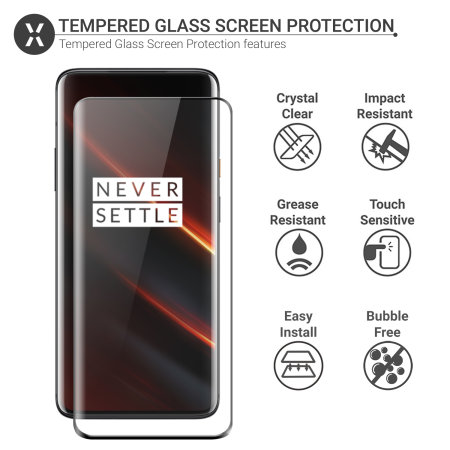 Olixar OnePlus 7T Pro 5G McLaren Full Cover Glass Screen Protector