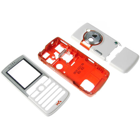Genuine Sony Ericsson W800i Replacement Housing Set - Smooth White