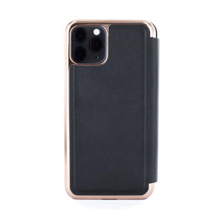Ted Baker Folio iPhone 11 Pro Max Flip Mirror Case - Shannon Black