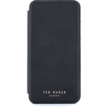 Ted Baker Folio iPhone 11 Flip Mirror Case - Shannon Black