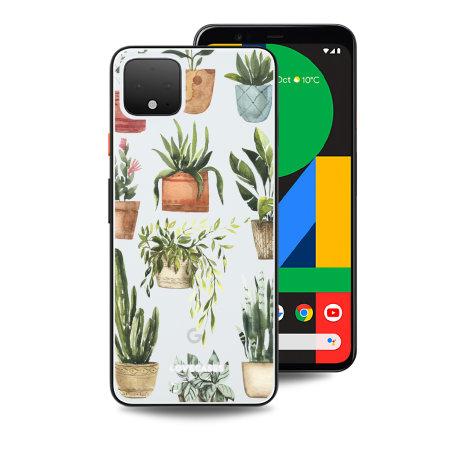 LoveCases Google Pixel 4 Gel Case - Plants