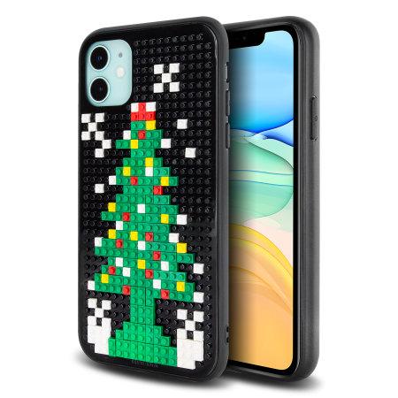 Olixar Mini Block iPhone 11 Novelty Christmas Case - Christmas Tree