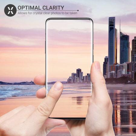 Protectores de Cámara OnePlus 7T Pro Olixar Cristal Templado - 2 uds