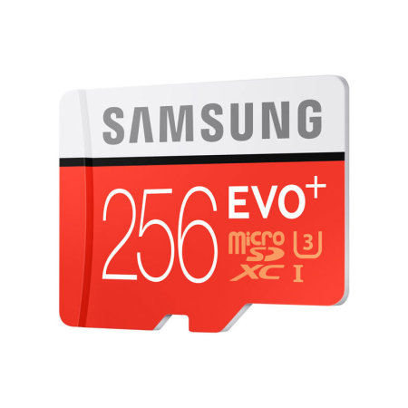 Samsung A50 256GB MicroSDXC EVO Plus Memory Card w/ SD Adapter