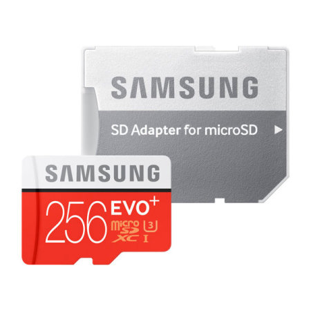 Samsung A30 256GB MicroSDXC EVO Plus Memory Card w/ SD Adapter