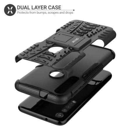 Olixar ArmourDillo Motorola Moto G8 Plus Protective Case - Black