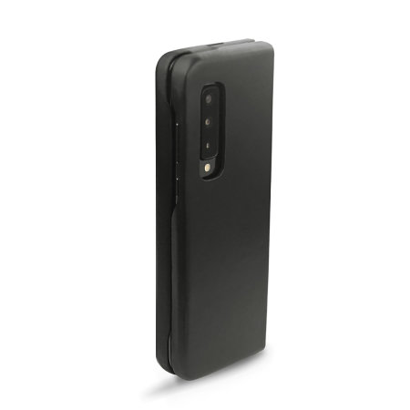 Noreve Samsung Galaxy Fold Premium Leather Cover Case - Black