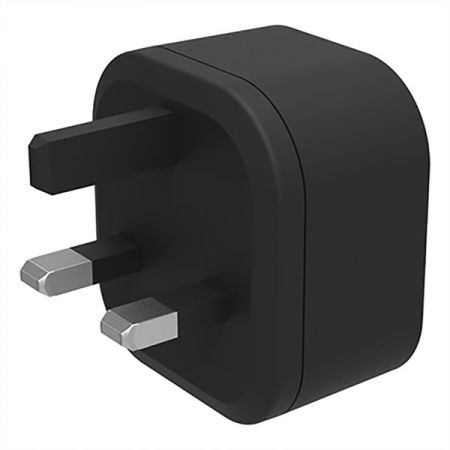 Cygnett 18W PD Single USB-C Wall Charger - UK plug - Black
