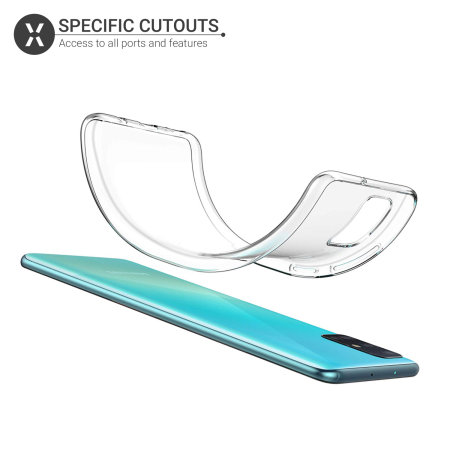 Olixar Ultra-Thin Samsung Galaxy A71 Case -100% Clear