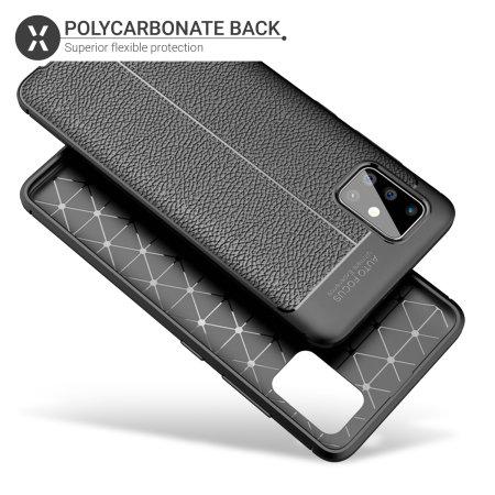 Olixar Attache Samsung Galaxy A71 Executive Shell Case - Black