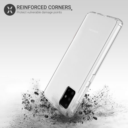 Olixar ExoShield Samsung Galaxy A51 Case - Clear