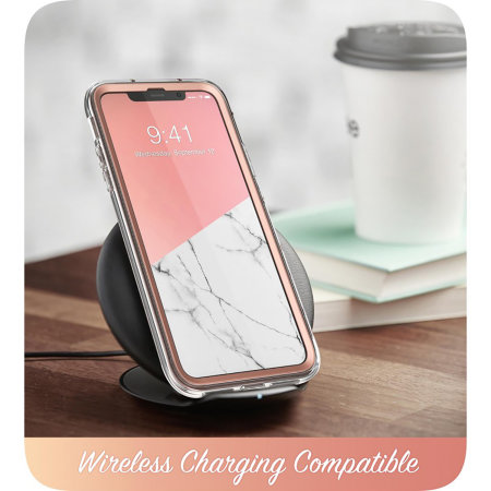 i-Blason Cosmo iPhone 11 Pro Slim Case & Screen Protector - Marble