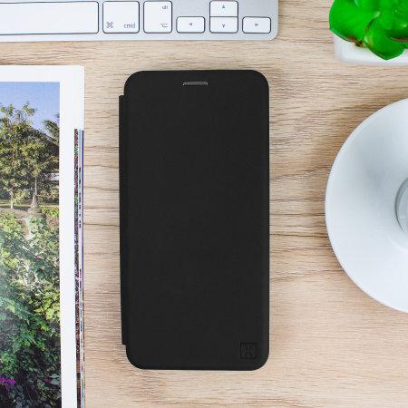 Olixar Soft Silicone Samsung Galaxy S20 Plus Wallet Case - Black