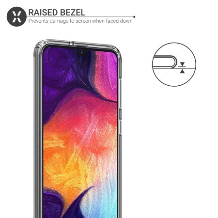 Olixar ExoShield Samsung Galaxy A50 Case - Clear