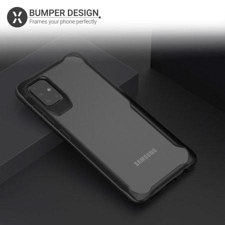 Olixar NovaShield Samsung Galaxy A51 Bumper Case - Black