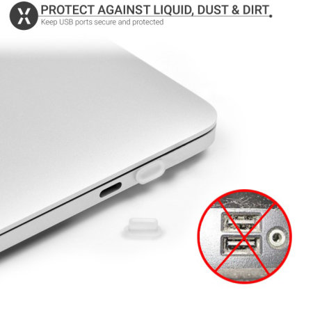 Olixar Silicone Anti-Dust Covers For Laptops & MacBooks - 12 Pack