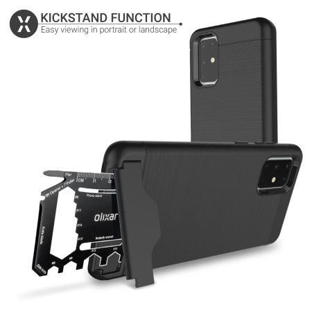 Olixar X-Ranger Samsung Galaxy S20 Plus Case - Black