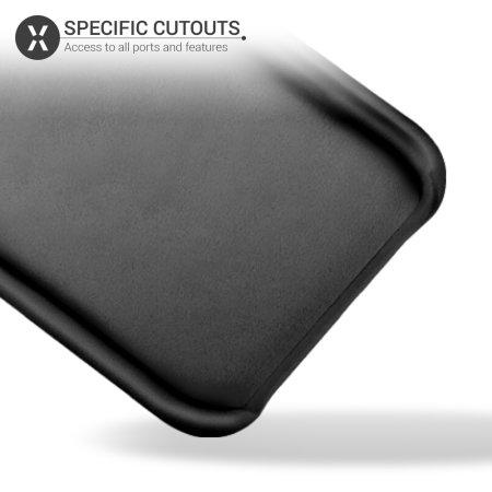 Olixar Samsung Galaxy A51 Soft Silicone Case - Black