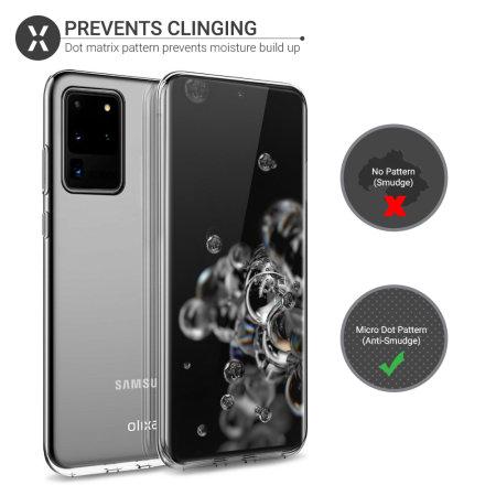 Olixar Ultra-Thin Samsung Galaxy S20 Ultra Case - 100% Clear