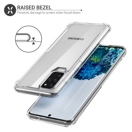 Olixar NovaShield Samsung Galaxy S20 Plus Bumper Case - Clear
