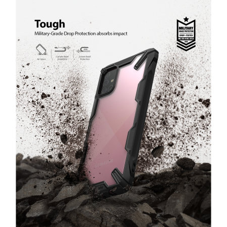 Ringke Fusion X Samsung Galaxy A71 Tough Case - Black