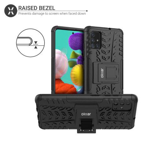Olixar ArmourDillo Samsung Galaxy A71 Protective Case - Black