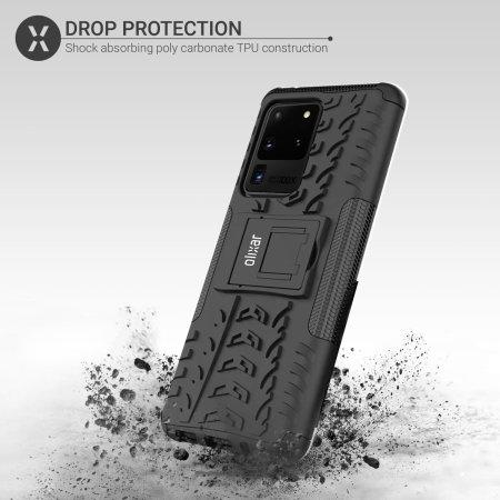 Olixar ArmourDillo Samsung Galaxy S20 Ultra Protective Case - Black