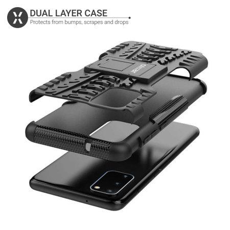 Olixar ArmourDillo Samsung Galaxy S20 Protective Case - Black