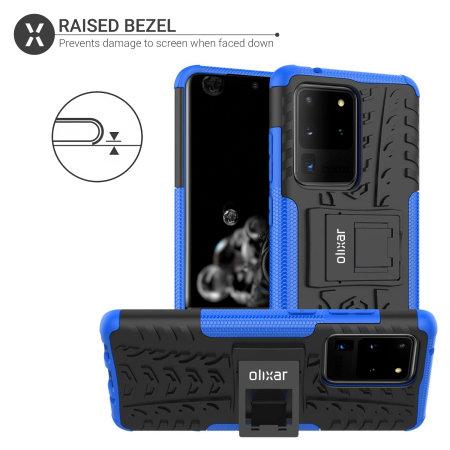 Olixar ArmourDillo Samsung Galaxy S20 Ultra Protective Case - Blue