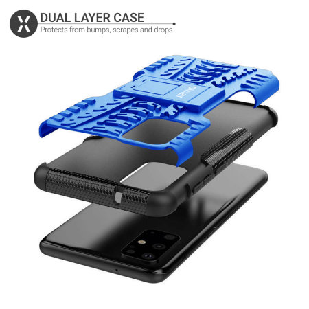 Olixar ArmourDillo Samsung Galaxy S20 Plus Protective Case - Blue