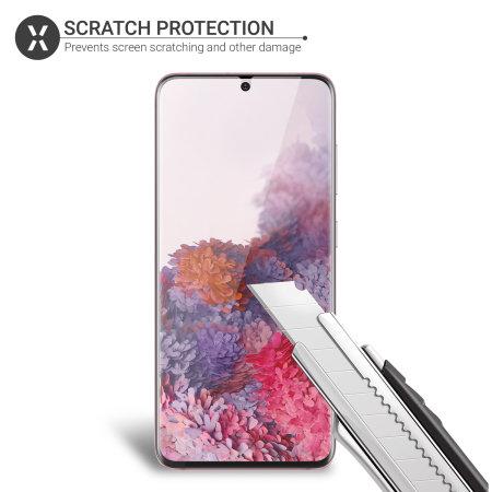 Olixar Samsung Galaxy S20 Film Screenprotector - 2 eenheden