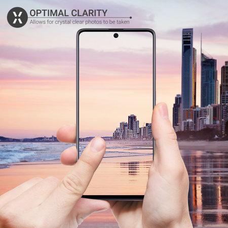 Olixar Samsung Galaxy A51 Tempered Glass Camera Protectors - 2 Pack