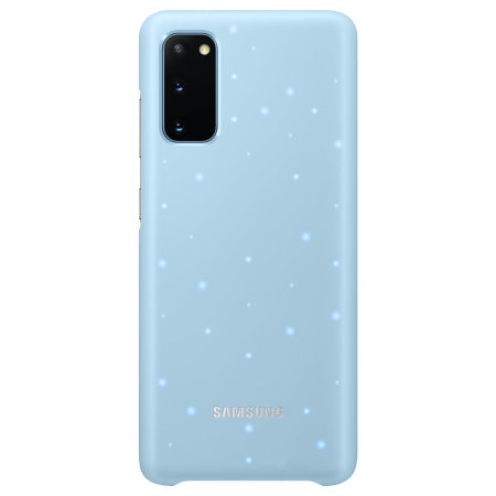 Official Samsung Galaxy S20 LED Cover Case - Sky Blue