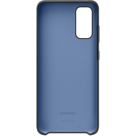 Officieel Samsung Galaxy S20 Silicone Cover Hoesje - Zwart