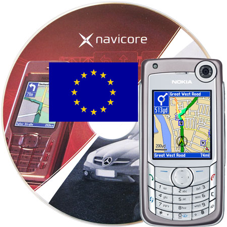 Navicore GPS Navigation Software Pack Europe - Symbian Series 60/80