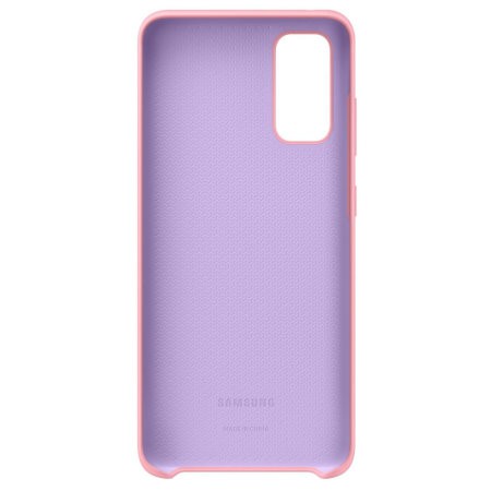 Official Samsung Galaxy S20 Silicone Cover Case - Pink