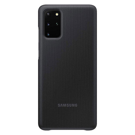 Official Samsung Galaxy S20 Plus Clear View Cover Case - Black