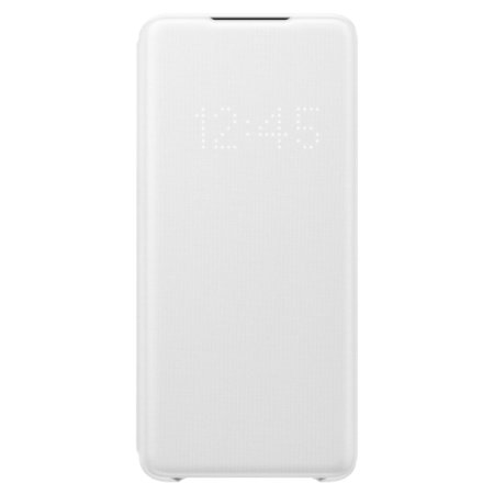 Official Samsung Galaxy S20 Plus LED View Cover Case - White