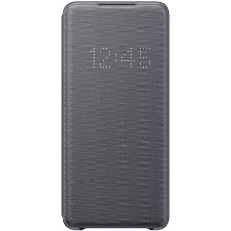 Officieel Samsung Galaxy S20 Plus LED View Cover Hoesje - Grijs