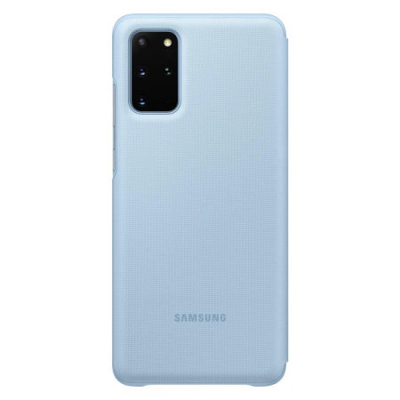 Official Samsung Galaxy S20 Plus LED View cover Case - Sky Blue