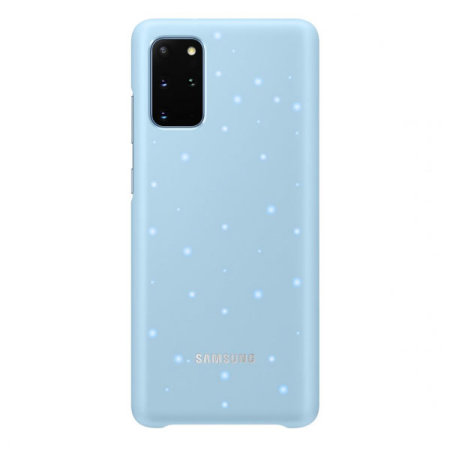 Official Samsung Galaxy S20 Plus LED Cover Case - Sky Blue