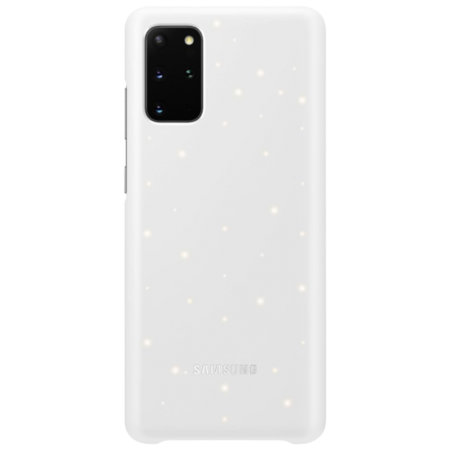 Official Samsung Galaxy S20 Plus LED Cover Case - White