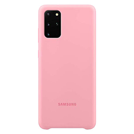 Official Samsung Galaxy S20 Plus Silicone Cover Case - Pink