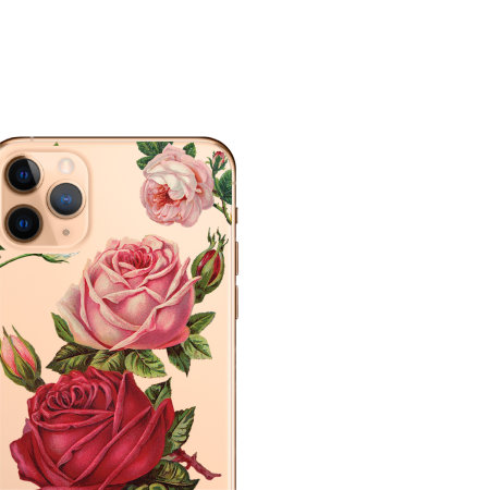 LoveCases Roses iPhone 11 Pro Max Clear Phone Case