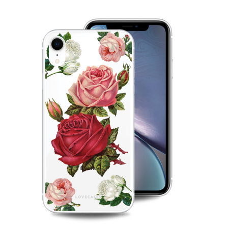LoveCases iPhone XR Gel Case - Roses