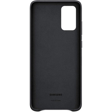 Official Samsung Galaxy S20 Plus Leather Cover Case - Black