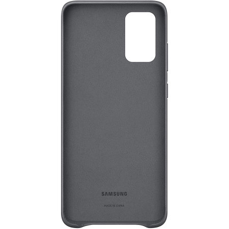 Official Samsung Galaxy S20 Plus Leather Cover Case - Grey