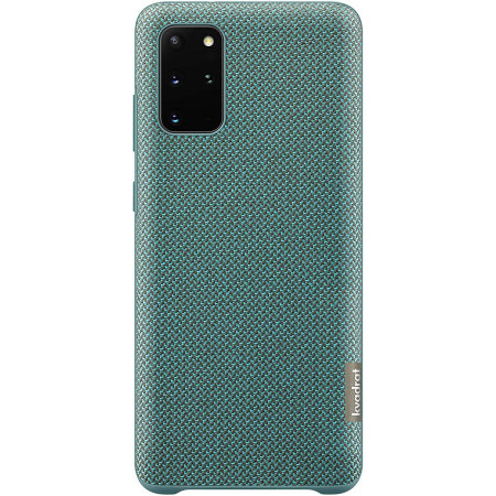 Official Samsung Galaxy S20 Plus Kvadrat Cover Case - Green