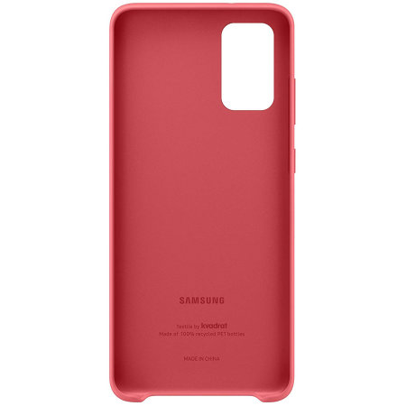 Official Samsung Galaxy S20 Plus Kvadrat Cover Case - Red