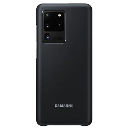 Official Samsung Galaxy S20 Ultra LED Cover Case - Black